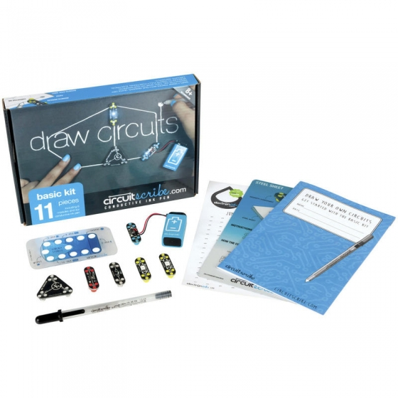 【CCT001】draw circuits basic kit (11pieces)