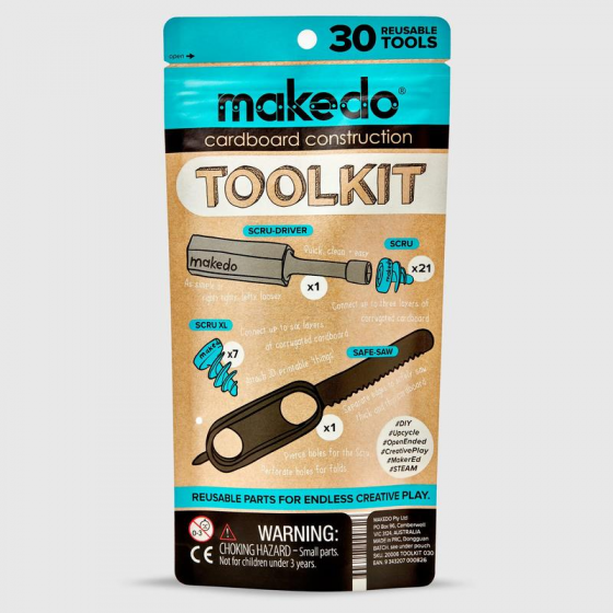 【MKD001】makedo toolkit